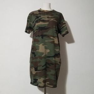 Forever 21 Camouflage Dress